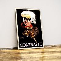 Javvuz - Contratto - Dekoratif Metal Plaka