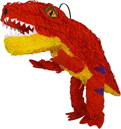 Amazon.com: Piñata de dinosaurio de Tyrannosaurus de tamaño ...