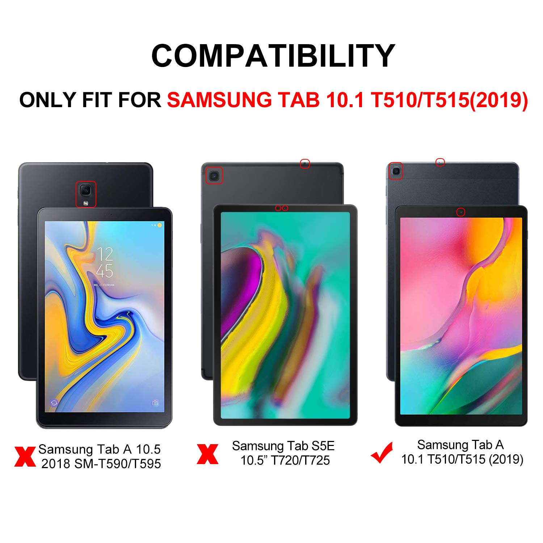 CH-47 IVSO Coque Etui Housse pour Samsung Galaxy Tab A T515//T510 10.1 2019 Slim Cover Housse de Protection pour Samsung Galaxy Tab A T515//T510 10.1 2019