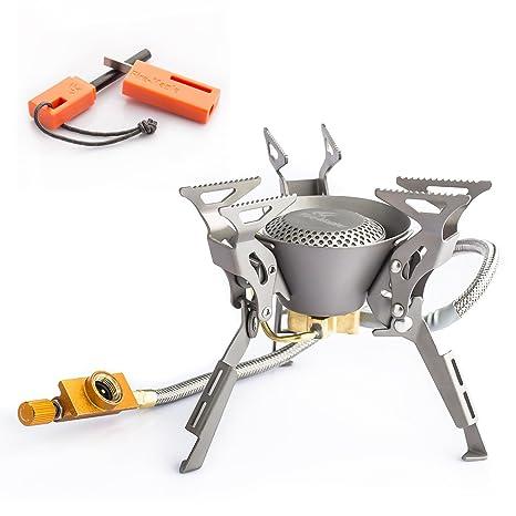 Fire-Maple FMS-100T hornillo estufa de gas portátil de titanio para cocina al