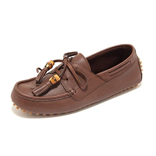 4286L mocassini uomo GUCCI hebron new oak scarpe loafers shoes men: Amazon.es: Zapatos y complementos