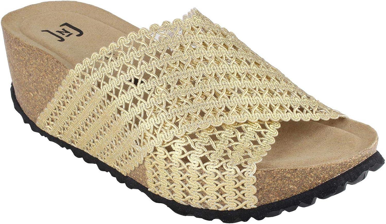 JOE N JOYCE Madrid Synsoft Damen Schuhe Sandalen Schlappen
