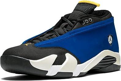 Aproximación Montaña Por favor  Amazon.com: Jordan Hombres Air 14 Bajo (Azul/Varsity Royal/Varsity  Maize/Blanco): Shoes