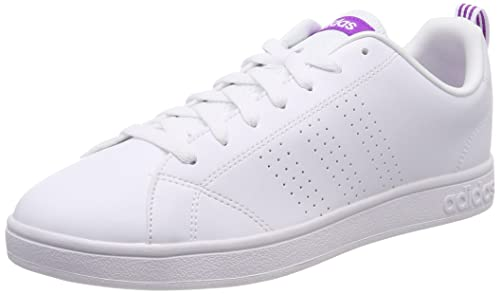 reputable site cb4ff 01832 adidas Vs Advantage Cl W, Scarpe da Ginnastica Basse Donna, Bianco Footwear  White Shock Purple, 42 2 3 EU  Amazon.it  Scarpe e borse