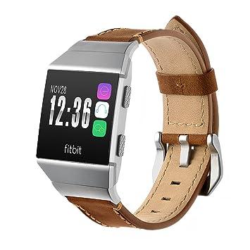 Bracelet pour montre connectée ionique Fitbit de marque Vicara, Bracelet de montre de