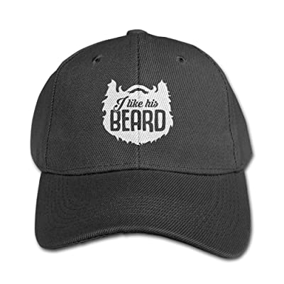 BrandonH1udson Children I Like His Beard, I Like Her Butt Adjustable Baseball Unisex Hats Black