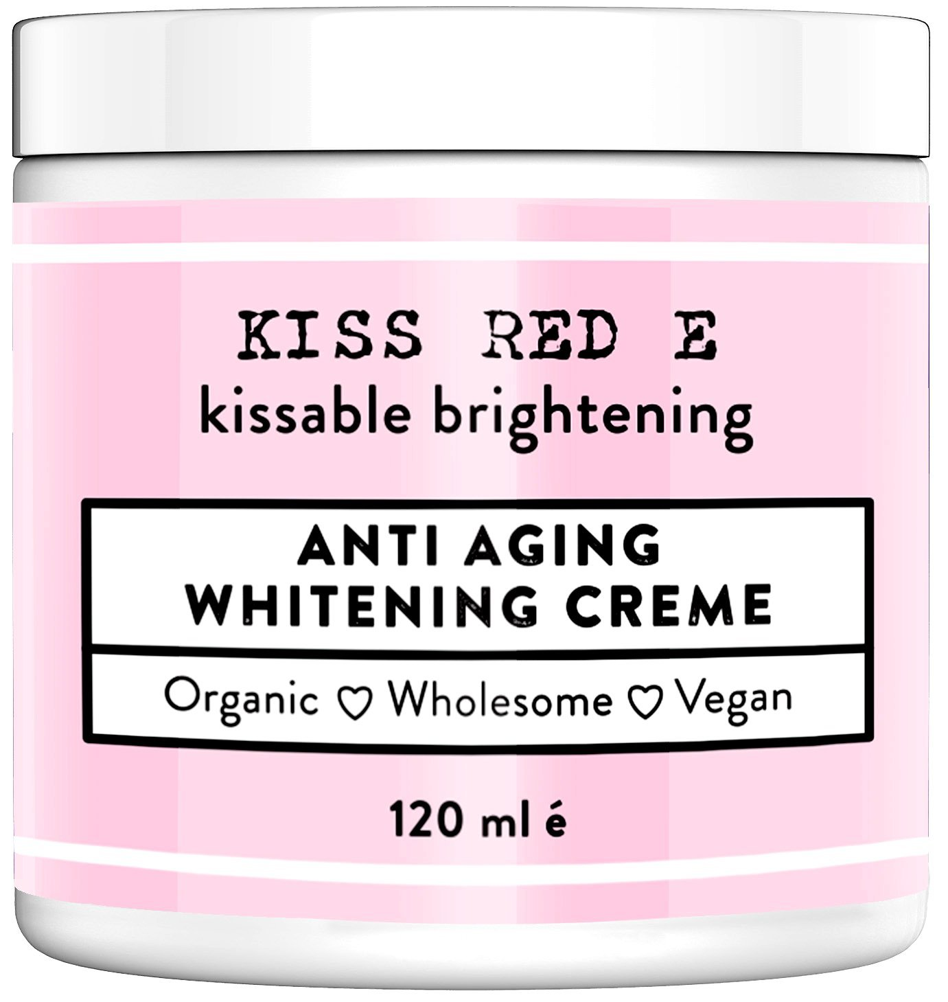 Whitening Cream. Anti Aging Skin Lightening Cream - Dark Spot Corrector for Face - Day Night Moisturizing Cream by KissRedE