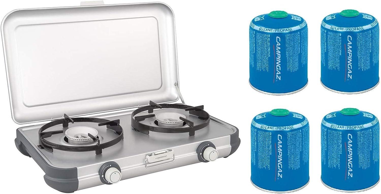 Campingaz Camping Kitchen 2 CV estufa portátil + cartucho de ...