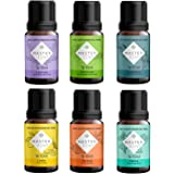 6 Aceites esenciales Master Zen para aromaterapia y difusor. Grado terapéutico. 100% naturales y puros