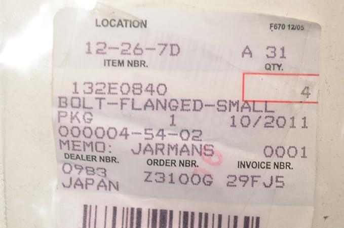 Amazon.com: Kawasaki 132E0840 Flange Bolt 8x40 QTY 1: Automotive