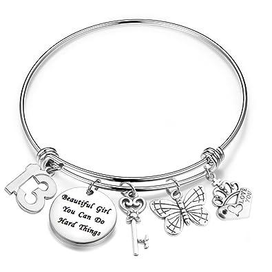 Lywjyb Birdgot Birthday Gift For Girls 10th 12th 13th 16th 18th 21st Girl Bracelet