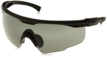 9ca9d0dbef1 Wiley X PT-1SC Tactical Glasses with Changeable Lens (Grey