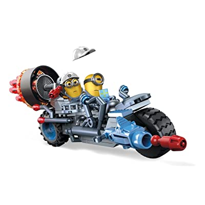 Mega Bloks Despicable Me Motorcycle Mayhem Building Kit: Toys & Games