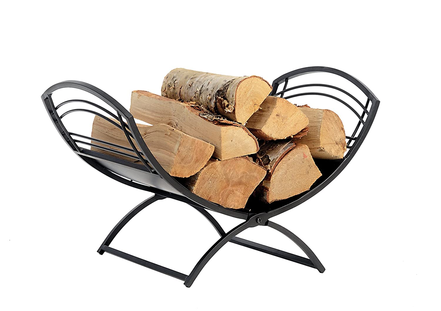 amazon com shelterlogic 90392 fireplace classic log holder