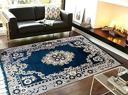 Reliable Trends Velvet Touch Chenille Carpet for Living Room Dining Hall Floor Mat 6x9 Ft Carpet
