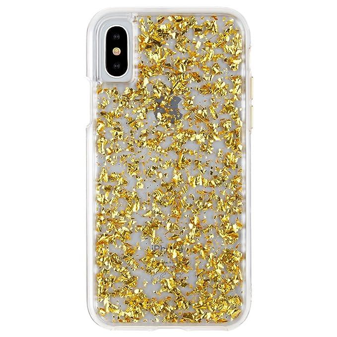 premium selection b34ee ea5a4 Case-Mate iPhone X Case - KARAT - 24K Gold Elements - Slim Protective  Design - Apple iPhone 10 - Gold