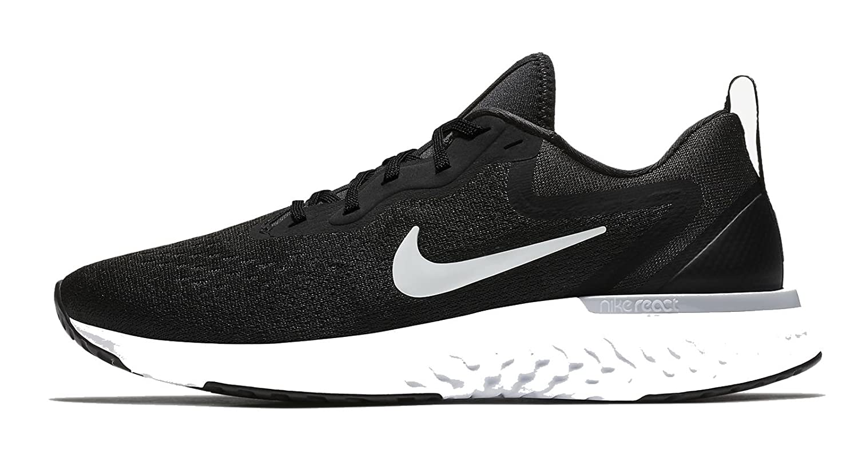NIKE Women's Odyssey React Running Sneakers B078JYKQLC 11 B(M) US Black/White-wolf Grey