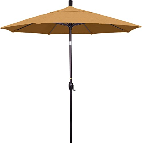 California Umbrella GSPT758117-5488 7.5' Round Aluminum Market