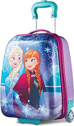 American Tourister Kids Disney Hardside Upright Luggage, Frozen, Carry-On 16-Inch