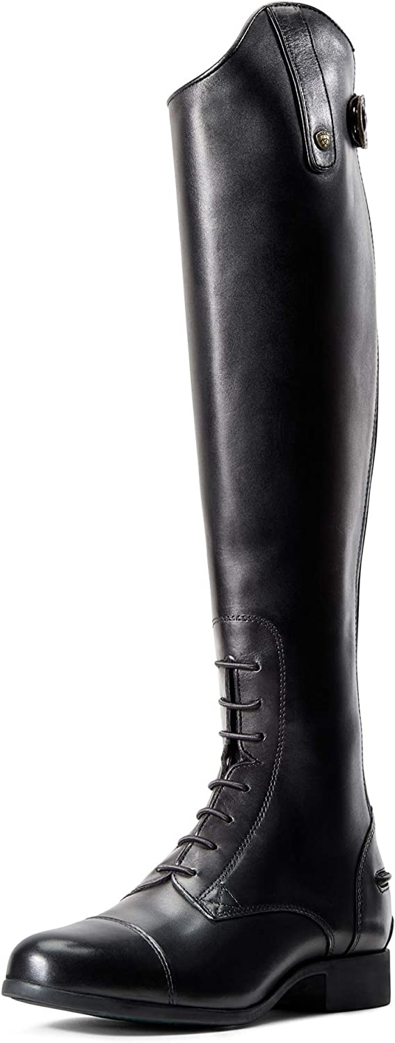 ARIAT Women's Heritage Contour Ii Field Zip Tall Riding Boot Black 71kqgHCyDyLUL1500_