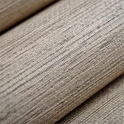 Wallpaper Modern Plain Rustic Textured Horizontal Faux Grasscloth Washable Vinyl Wall Paper Roll Grey