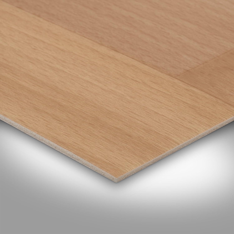 Holzoptik Schiffsboden Buche hell Meterware 200 300 und 400 cm Breite Vinylboden PVC Bodenbelag Variante: 2 x 2m