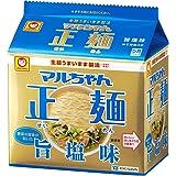 マルちゃん正麺 旨塩味 5食×6袋