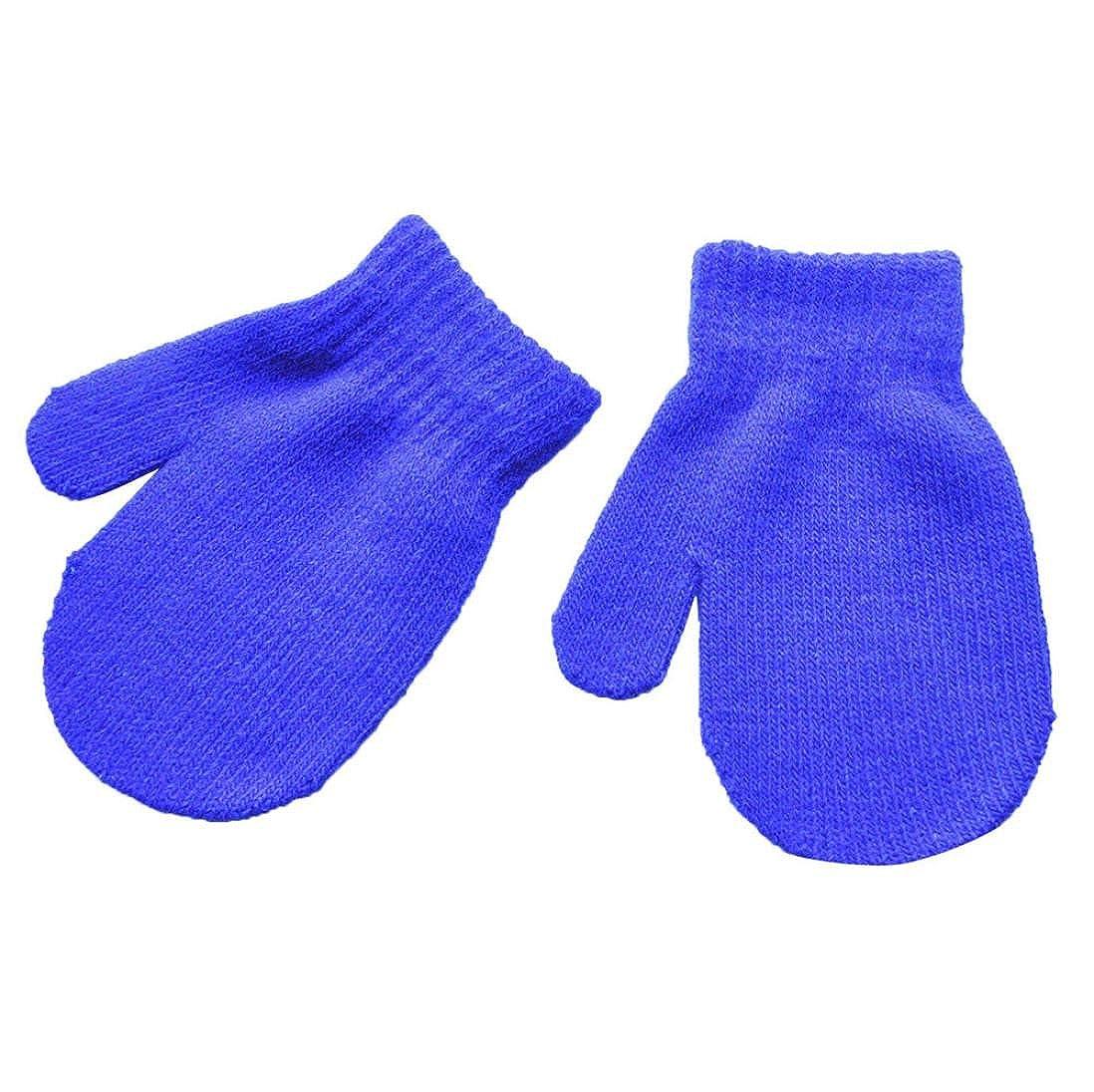 Hirolan Fäustlinge Säugling 1-4 Jahre Baby Niedlich Solide Drucken Mädchen Jungen Von Winter Mode Einfach Praxis Mittens Super Warme Gloves Handschuhe 1 Paar)