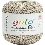 golo Crochet Thread for Size10 Yarn Light Coffer in Hand Knitting