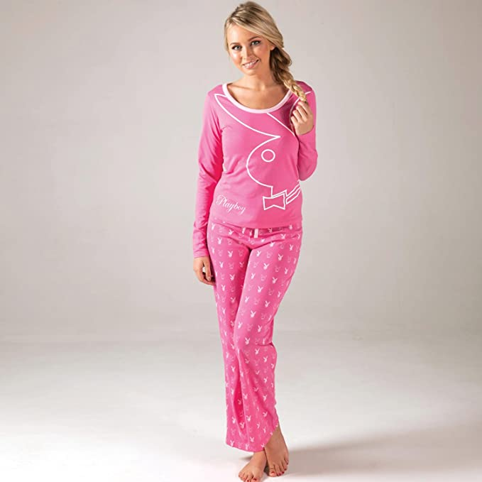 Playboy Pijama Ale para mujer (rosa)