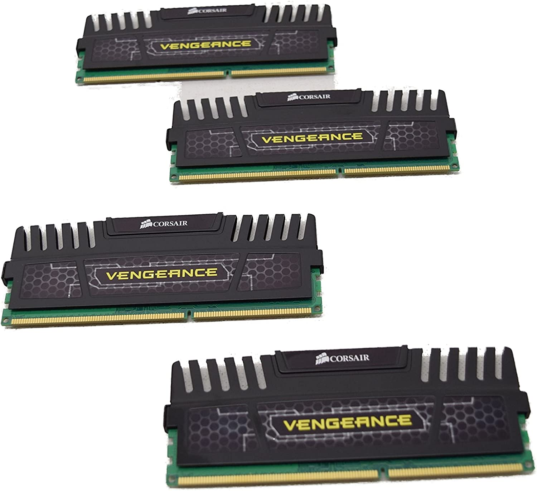 CMZ16GX3M4A1600C9 16GB 1600MHz CL9 DDR3 Kit CMZ16GX3M4A1600C9 Corsair DIMM Extreme Memory Profiles Retail 4x4GB