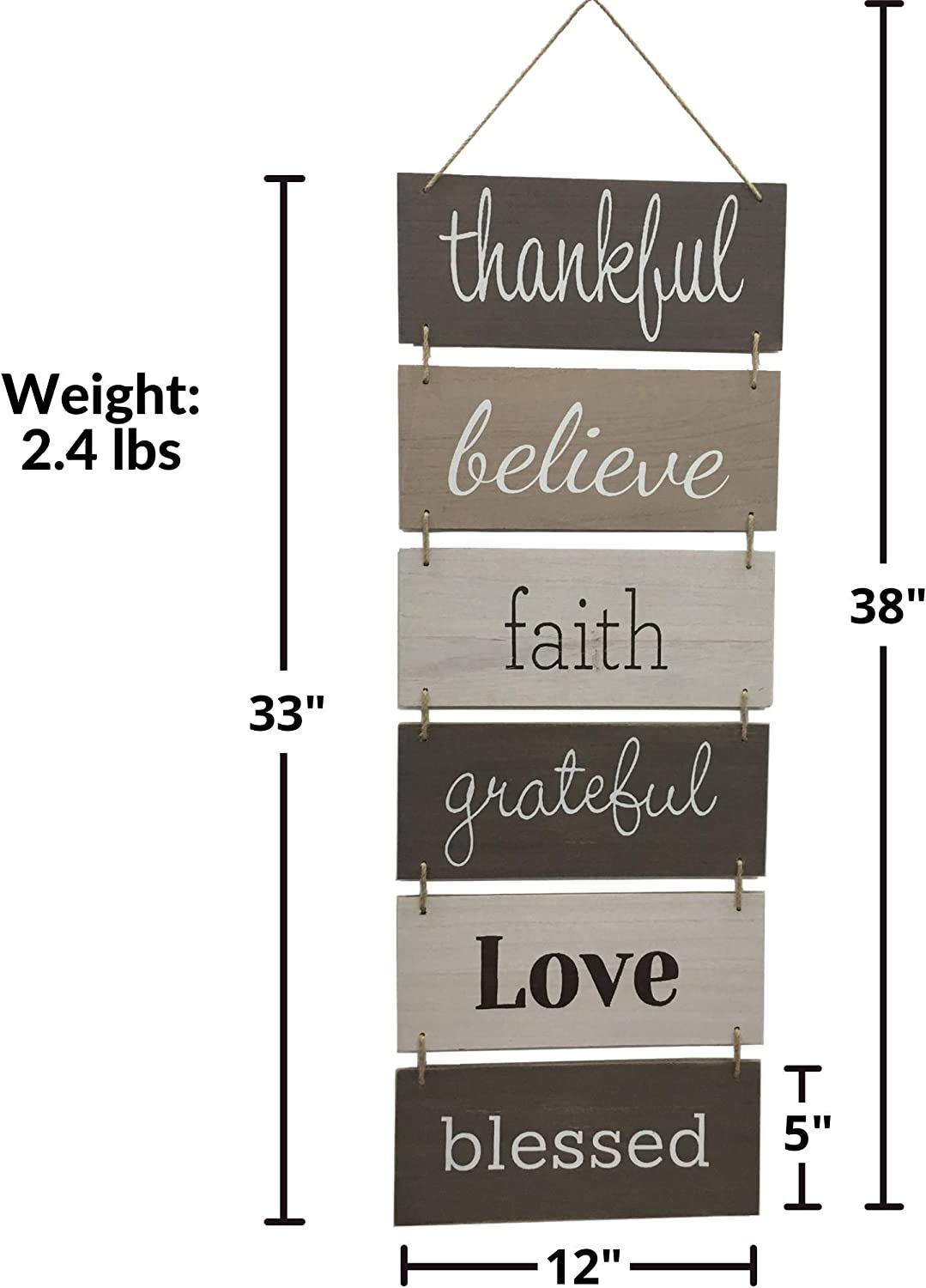 Amazon Com Hanging Wall Décor Sign Welcome Vertical Wall Art Decorations Rustic Home Farmhouse Accessories For Living Room Bedroom Bathroom Family Dining And Kitchen Signs For House Decoration Plaque Everything Else