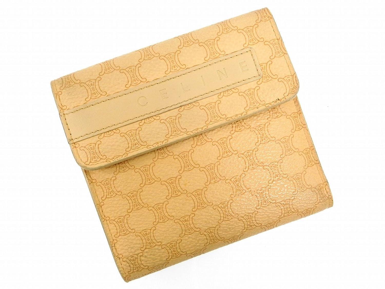 [セリーヌ] CELINE 二つ折り財布 マカダム PVC×レザー X7666 中古 B010FAUHCA