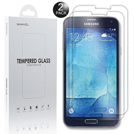 Ganvol (Pack di 2) Vidrio Templado Film Protector de Pantalla Membrana para Samsung Galaxy