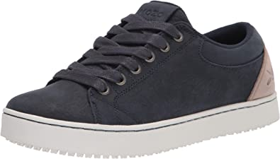 MOZO Men's Finn Sneaker, Navy/Taupe