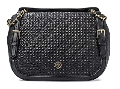 6f01c1749d6 Image Unavailable. Image not available for. Color  Tory Burch  Bloomingdale s Quilted Shoulder Bag Black New