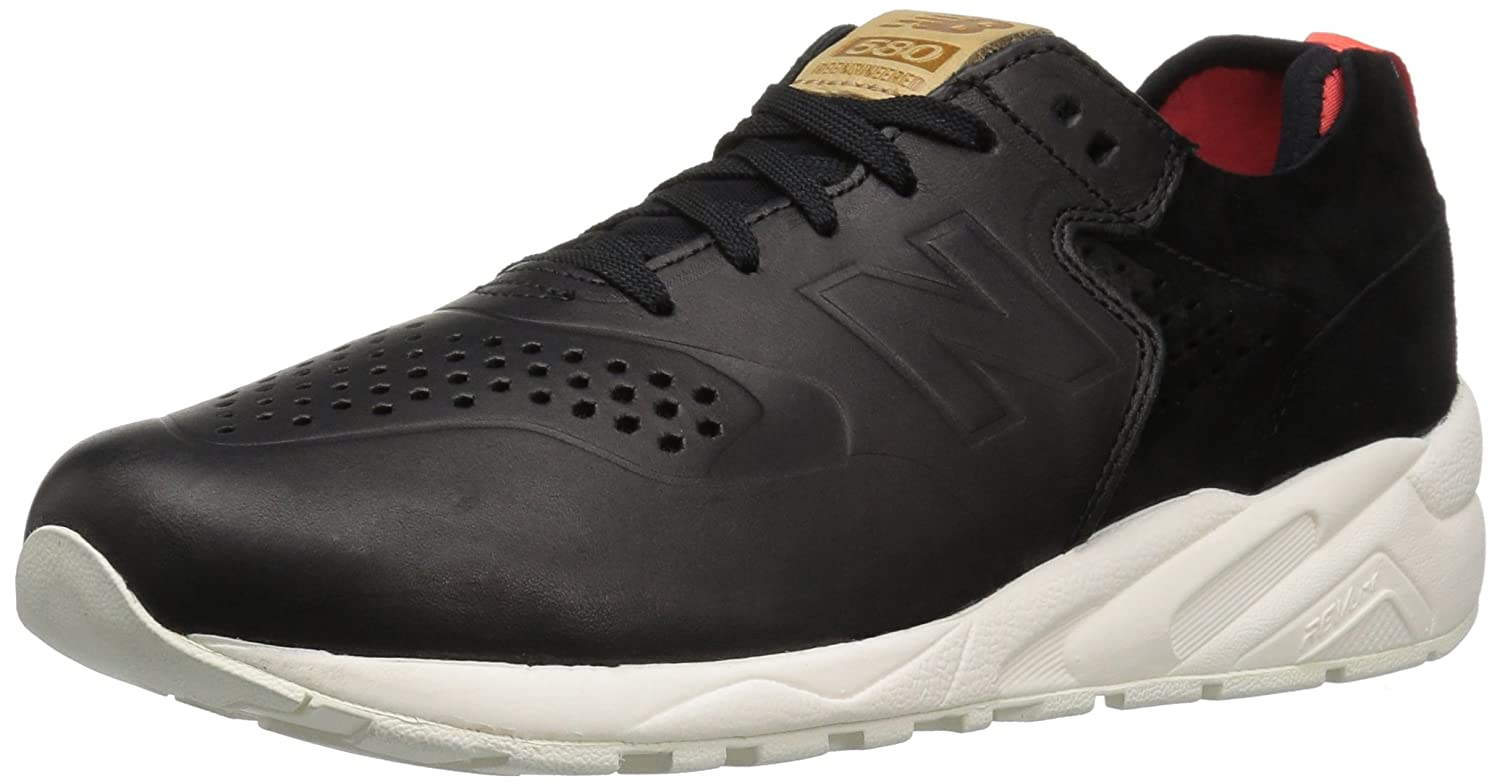 New Balance Men's 580 Must Land Pack Fashion Sneaker B01DDX50DM 6 D(M) US|Black