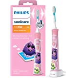 Philips Sonicare For Kids Rechargeable Electric Toothbrush, Pink HX6351/41