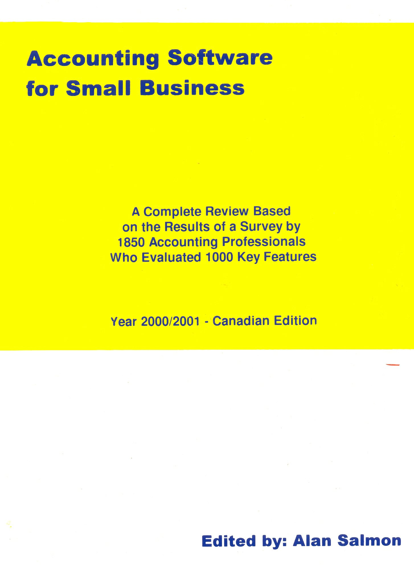 Amazon com: Accounting Software for Small Business: A