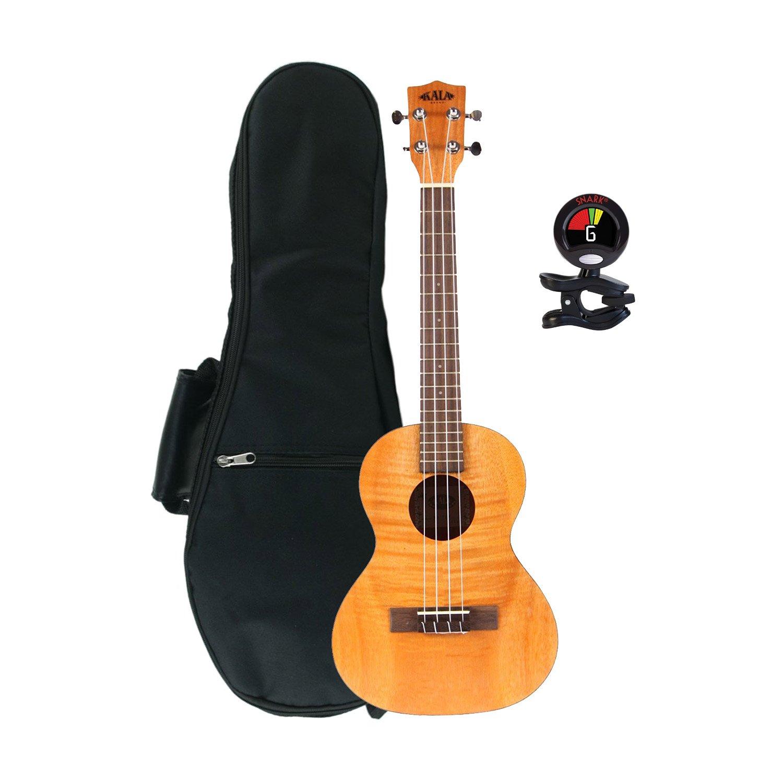 kala ka tem tenor exotic mahogany ukulele w padded
