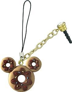 Disney Mickey Donut D-Lish Treats Phone Charm,Multi-colored,1