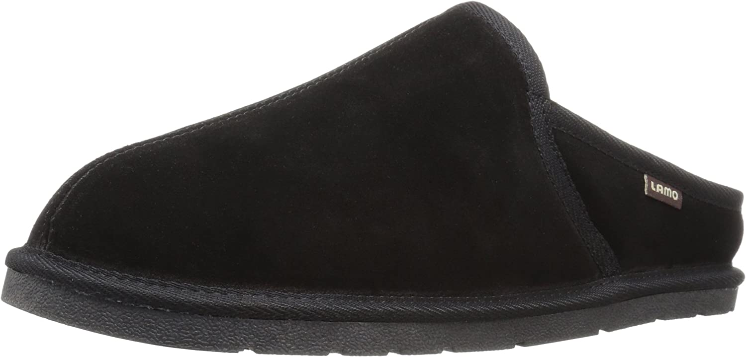 Synthetic Scuff Slipper Lamo Mens Mule