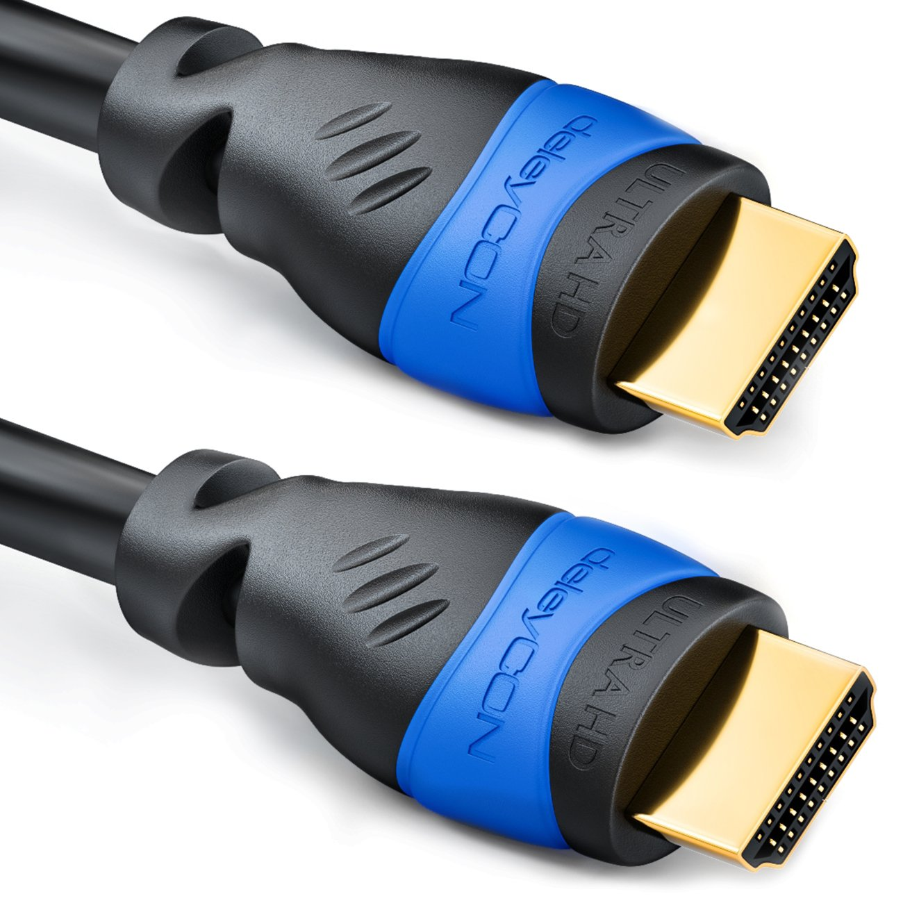 deleyCON MK03- Cable HDMI 2.0 (2 m, HDMI 1.4a, ULTRA HD