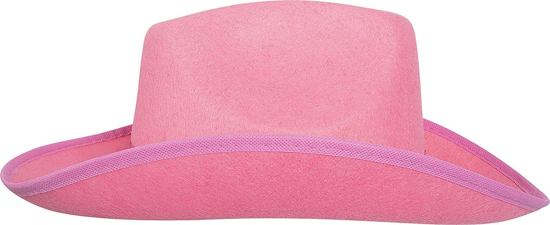 c1b50556badc4 Amazon.com  Pink Felt Cowgirl Fashion Hat – Perfect Accessories for Fashion  Wear
