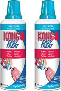 KONG - Easy Treat - Dog Treat Paste - 8 Ounce (2 Pack) - Puppy Recipe