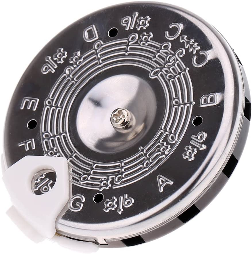 "Pitch Pipe Tuner A Precise 13 Note Chromatic C-C Scale From The Master ""That's My Tune"" Offers You Durable Chrome Plated Pipes With A Sliding Note Selector Giving You A Key To Be a Better Vocalist"
