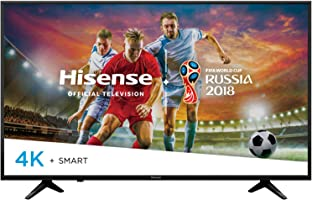 "Hisense Televisor LED 65"" Smart TV Ultra HD 4K 65H6E (Certified Refurbished/Reacondicionado)"
