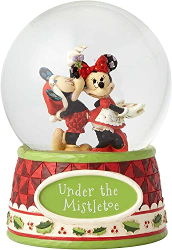 Enesco Disney Traditions Mickey and Minnie Mouse Waterball