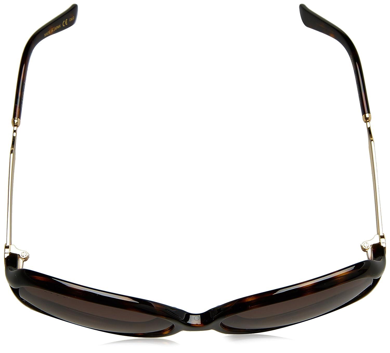 95a10d1d7586b Amazon.com  Gucci Women s Oval Sunglasses - Havana Brown  Clothing