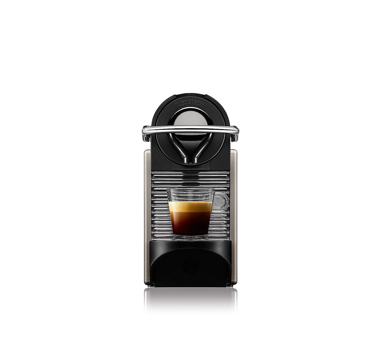Titane /Électrique Machine /à caf/é automatique Krups YY1201FD Nespresso Pixie